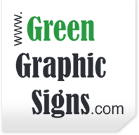 Green Graphic Signs